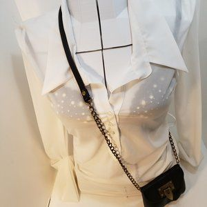 2/$20 White Long sleeve top